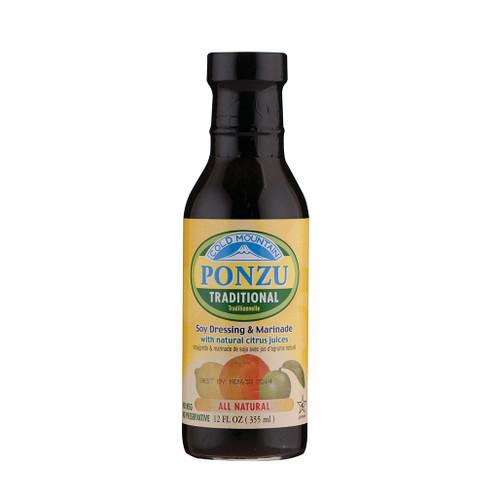 Cold Mountain Organic Ponzu Sauce Traditional 12 fl oz / 355ml