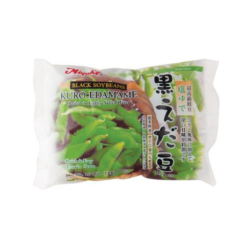 Miyako Frozen Black Bean Edamame Slightly Salted 16 oz (454g)