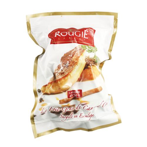 Rougie Frozen Foie Gras Slice 2.2 lbs (998g)