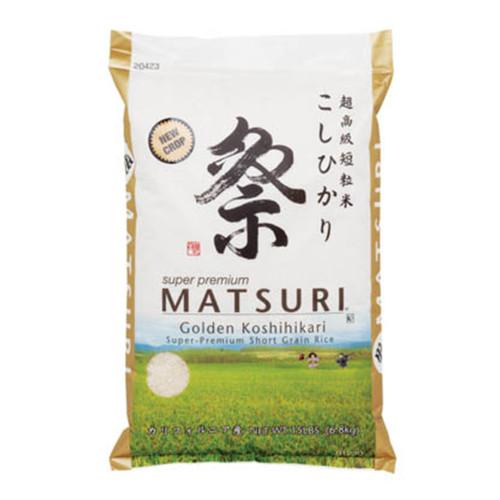 Matsuri Koshihikari Short Grain White Rice 6.8kg (15 lbs)
