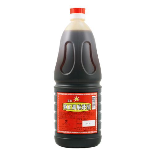 Kuki Junsei Goma La-Yu Chili Oil 60.8 fl oz (1800ml)