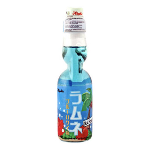 Miyako Ramune Blue Hawaii Flavored Soda 6.76 fl oz (200ml) x 30 bottles