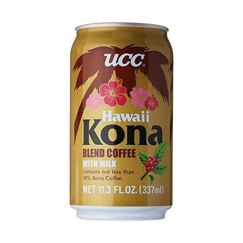 UCC Hawaii Kona Coffee 11.3 fl oz (337ml) x 24 cans