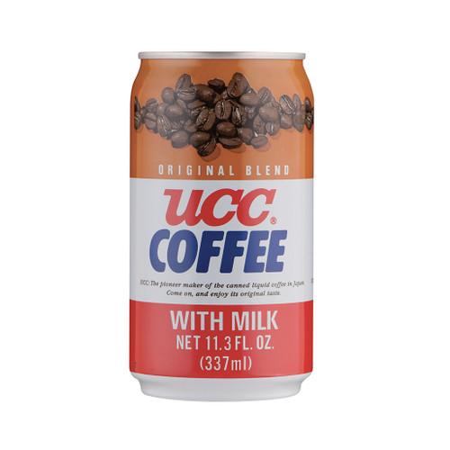 UCC Original Blend Milk Coffee 11.3 fl oz (337ml) x 24 cans
