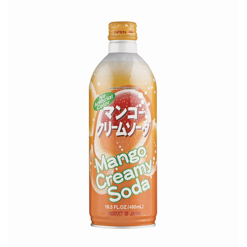 UCC Mango Cream Soda 16.5  fl oz (490ml) x 24 bottles