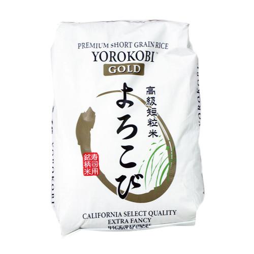 Yorokobi Premium Calhikari White Sushi Rice 18.14 kg (40 lbs)