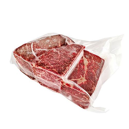 Frozen Washugyu Beef Cut Top Sirloin Butts Approx. 2.2 lbs (3 Blocks)