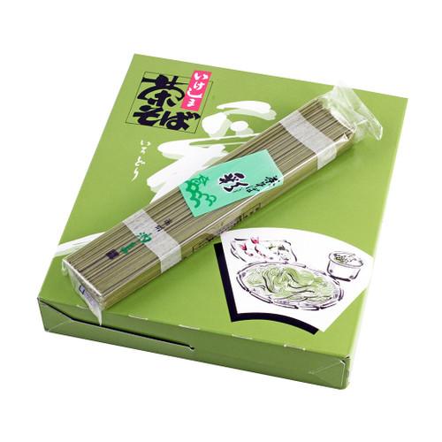 Cha-Soba Buckwheat Noodle with Green Tea 41.6 oz (1179g)