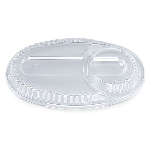 Lids for BF-213 Takeout Tray for Curry (50/pack) #4423