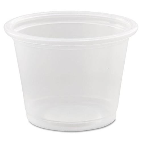 Solo Plastic Portion Cup 1 fl oz / 29ml (2500/case) - No Lid