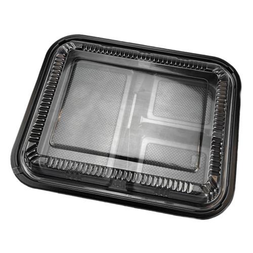 TZ-304 PS Black Takeout Bento Box (252/case)