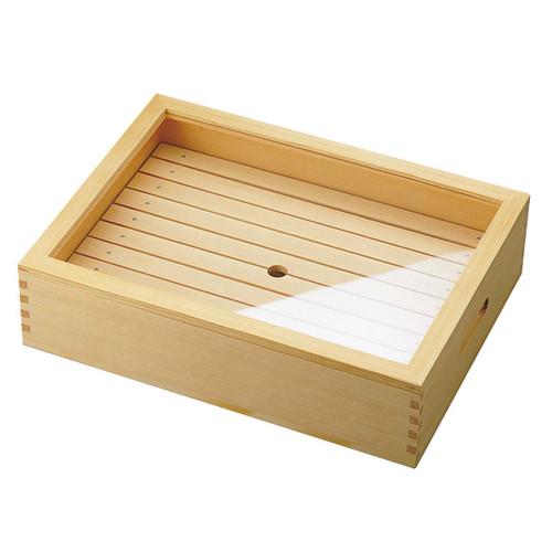 """Wooden Sushi Neta Box Large 15.4"""" x 11.4"""""""