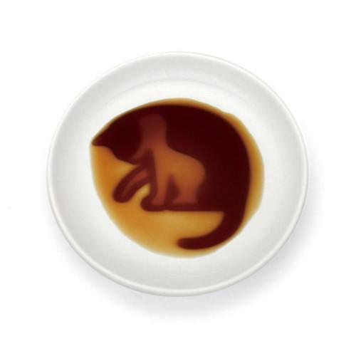 "[NEW] Alta Cat Grooming Soy Sauce Dish 3.54"" dia"