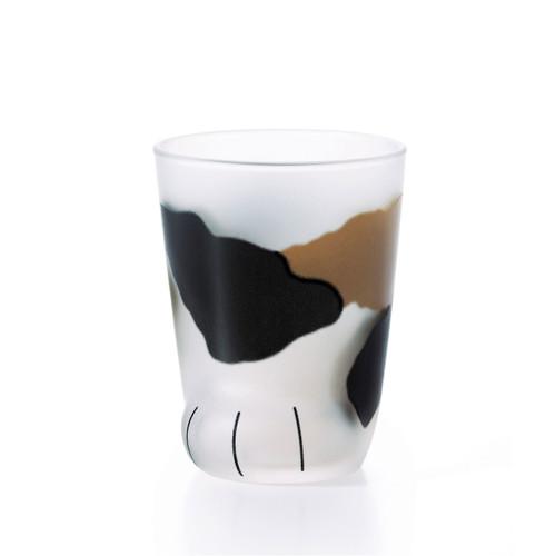 [NEW] Mixed Color Neko Shaped Fluid Glass Tumbler 6.5 fl oz