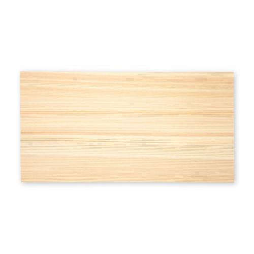 "Hinoki (Japanese Cypress) Cutting Board  18.8"" x 9.4"" x 1.6"" ht"