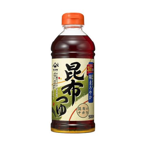 Yamasa Kombu Tsuyu Concentrate Noodle Soup Base 16.9 oz / 500ml
