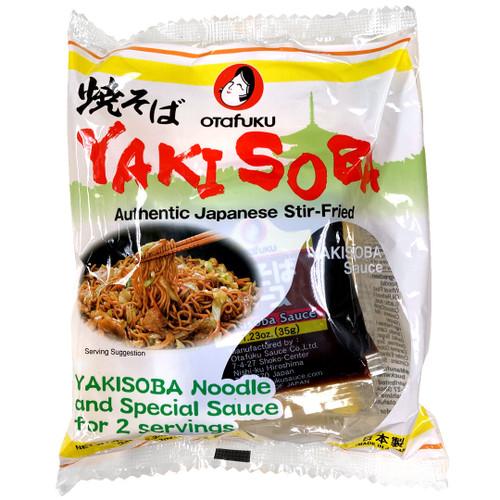 Otafuku Yakisoba Stir Fry Noodle 2 servings/pack 13 oz (370g)