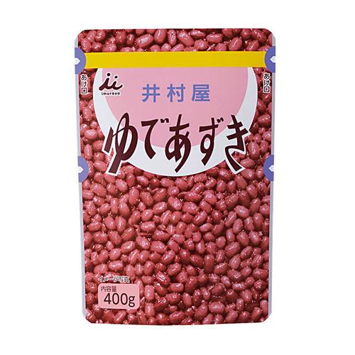 Imuraya Yude Azuki Prepared Sweet Red Azuki Beans 14.1 oz (400g)