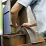 """Tsukiji Masamoto Carbon Steel Gyuto 240mm (9.4"""") Tsubanashi"""