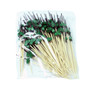 """[Clearance] Decorative Picks for Appetizers and Cocktails Green Pine Tree 4.72"""" (100/pack) - Made in Japan"""