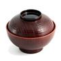 "Ransuji Soup Bowl with Lid 8 fl oz / 4.33"" dia"