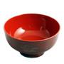 """Ridged Red Soup Bowl 11 fl oz / 4.53"""" dia"""