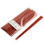 Red Plastic Chopsticks (10 Pairs/pack)