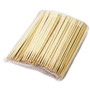"8.25"" Disposable Square Tip Bamboo Chopsticks - 3000 Pairs / Case"