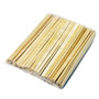 "8.25"" Disposable Bamboo Chopsticks - 3000 Pairs / Case"