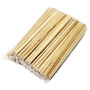 "9.5"" Disposable Sloped Tip Cedar Chopsticks (100 pairs/pack)"
