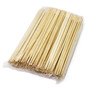"9.5"" Disposable Square Tip Bamboo Chopsticks - 3000 Pairs / Case"