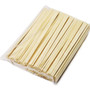 "8"" Disposable Poplar Chopsticks - 100 Pairs / Pack"