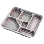 """Z-86 Red Take Out Bento Box 12.6"""" x 11.4"""" (240/case)"""