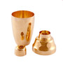 Yukiwa Copper-Plated Cobbler Cocktail Shaker 360ml (12.2 oz)