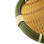 "Washable Faux Bamboo Bowl 5.12"" dia"