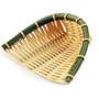 "Washable Faux Bamboo Basket 5.5"" x 5.88"""