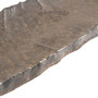 "[Clearance] Charcoal Gray Textured Rectangular Plate 14.37"" x 5.71"""
