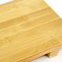"Bamboo Sushi Geta Plate 10.6"" x 7"""