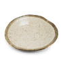 "Grainy Ivory Plate 10.83"" x 10.75"""