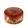 "Red Chirashi Sushi Box 6.57"" dia"