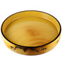 "Grape Motif Sushi Serving Tray (Sushi Oke) 18.27"" dia"