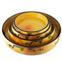 "Grape Motif Sushi Serving Tray (Sushi Oke) 12.05"" dia"