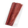 Red SPS Reusable Noodle Chopsticks (10 pairs/pack)