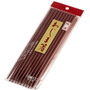 Maroon Lacquered Reusable Wooden Chopsticks (10 pairs/pack)