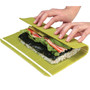 "Hasegawa Antibacterial Plastic Non-Stick Sushi Rolling Mat (Makisu) 12"" x 10"""
