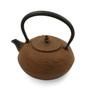 Nanbu Tetsubin Japanese Cast Iron Kettle Teapot 40 fl oz with Dragon Textured