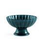 "Giyaman Daisy Glossy Blue Dessert Bowl 8.5 fl oz / 4.5"" dia"