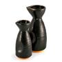 Black Yuzuten Ceramic Sake Server 9 fl oz