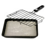 Stovetop Non-stick Fish Grill with Ceramic Pan