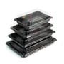 "A-01HL Momiji Leaf Take Out Sushi Tray 6.5"" x 4.5"" (50/pack)"